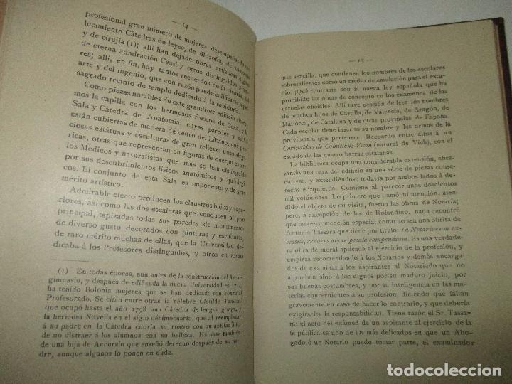 Libros antiguos: ESTUDIOS HISTÓRICO FILOSÓFICOS SOBRE EL NOTARIADO. ROLANDINO Y SUS OBRAS.FALGUERA, Félix María. 1894 - Foto 7 - 118151479