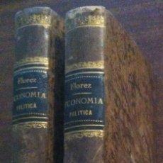 Libros antiguos: CURSO DE ECONOMÍA POLÍTICA - ALVARO FLÓREZ ESTRADA - 2 TOMOS - MADRID, 1848. Lote 119208975