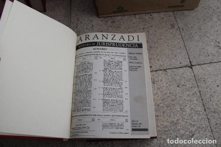 Libros antiguos: ARANZADI LIBRO DERECHO JURISPRUDENCIA, LEGISLACIÓN 1989, 1990, 1991 - Foto 2 - 119941735