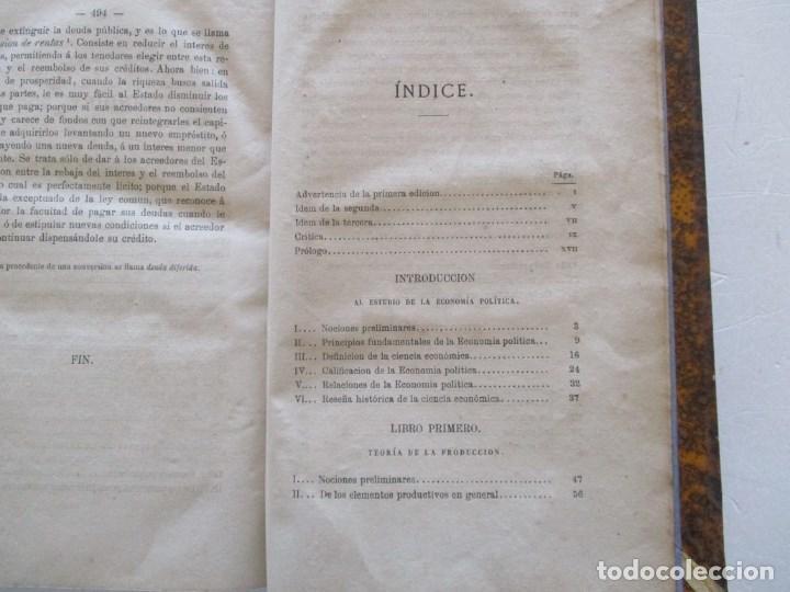 Libros antiguos: D. MARIANO CARRERAS Y GONZÁLEZ Tratado Didáctico de Economía Política. RM86141 - Foto 3 - 119970247