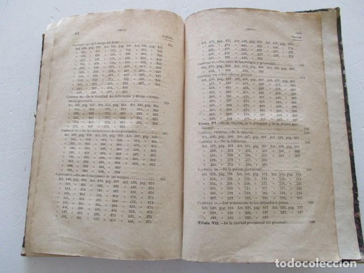 Libros antiguos: VV. AA. Ley de Enjuiciamiento Criminal de 14 de Setiembre de 1882. Tomos I y II. DOS TOMOS. RM86160 - Foto 6 - 119976267