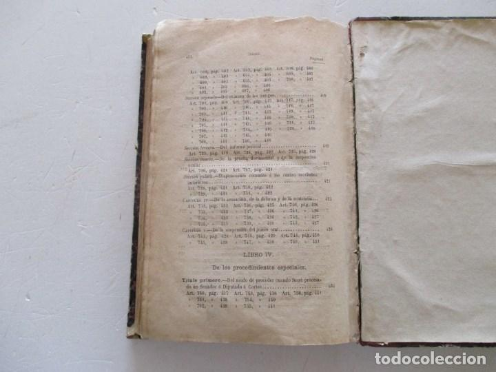 Libros antiguos: VV. AA. Ley de Enjuiciamiento Criminal de 14 de Setiembre de 1882. Tomos I y II. DOS TOMOS. RM86160 - Foto 8 - 119976267