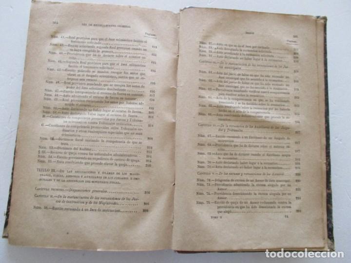 Libros antiguos: VV. AA. Ley de Enjuiciamiento Criminal de 14 de Setiembre de 1882. Tomos I y II. DOS TOMOS. RM86160 - Foto 14 - 119976267