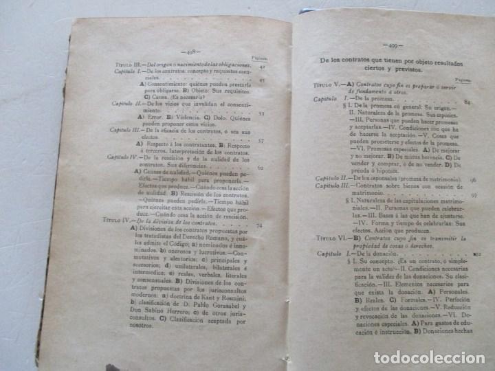 Tratado Elemental del Derecho de Obligaciones según el Libro IV del Código  Civil Español. RM86175
