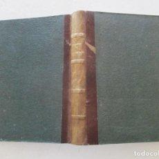 Libros antiguos: FRANCISCO CONTRERAS MARTÍN, CARLOS DEL RÍO Y DIEZ DE BULNES GOBIERNO Y ADMINISTRACIÓN. RM86176.. Lote 119982219