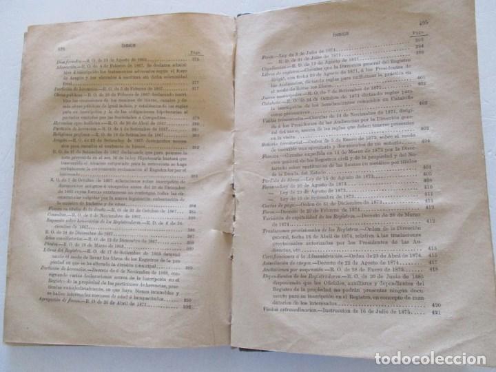Libros antiguos: Novísima Legislación Hipotecaria de España. RM86182. - Foto 5 - 119983823