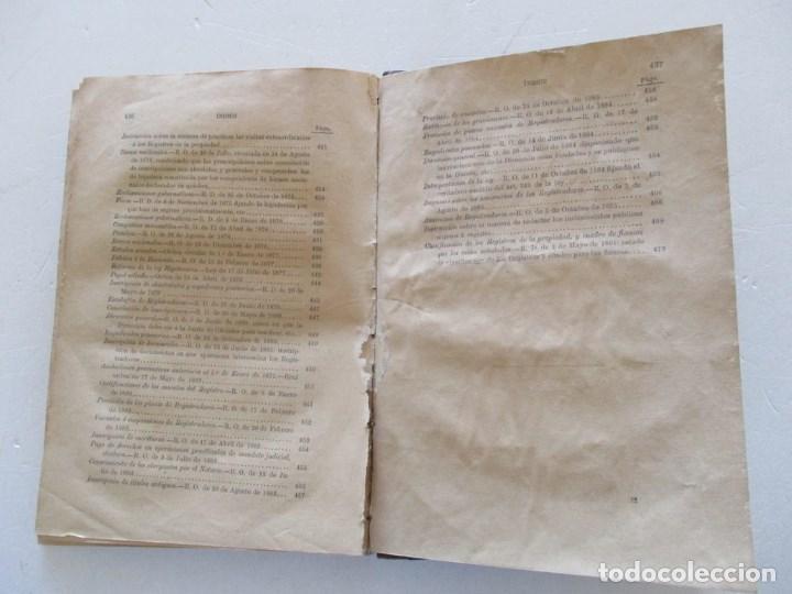 Libros antiguos: Novísima Legislación Hipotecaria de España. RM86182. - Foto 6 - 119983823