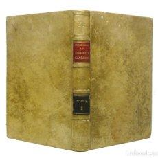 Libros antiguos: 1859 - PERGAMINO - LIBRO ANTIGUO SIGLO XIX - INSTITUCIONES DE DERECHO CANÓNICO - PEDRO BENITO GOLMAY. Lote 120853183