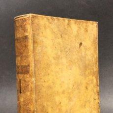 Libros antiguos: 1752 - FERIAE AUTUMNALES - JOSEPHI AURELII DE JANUARIO - DERECHO - PERGAMINO . Lote 120901879