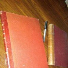 Libros antiguos: DOS LIBROS ANTIGUOS SOBRE DERECHO.. Lote 121259899