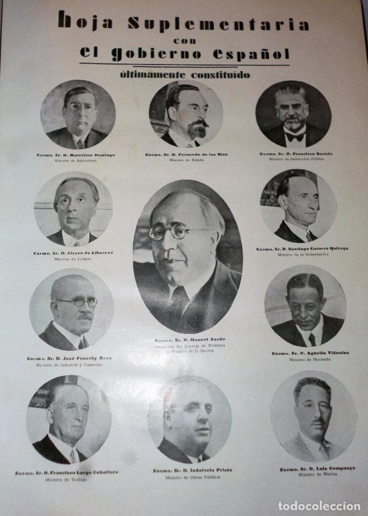 Libros antiguos: ALBUM NACIONAL DE LA ACTUALIDAD ESPAÑOLA. AÑO 1933 - Foto 4 - 121678519