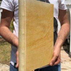 Libros antiguos: 1750 TRACTATUS DE OFFICIALIBUS - TRACTATUS DE PASCUIS - CARRIÓN - DERECHO - GANADERIA. Lote 122441095