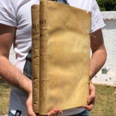 Libros antiguos: 1762 YBAÑEZ DE FARIA - FOLIO - PERGAMINO - DERECHO - SEGOVIA - CADIZ - TOLEDO. Lote 122441235