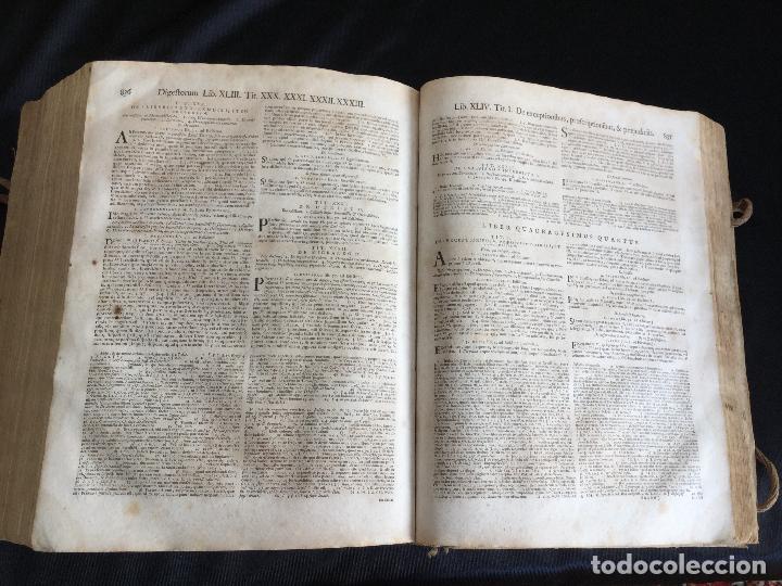 Libros antiguos: Corpus Iuris Civilis Romani, Carolus VI Romanorum Imperator Semper Augusto,1740 - Foto 4 - 122574423