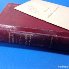 Libros antiguos: APUNTES DE HISTORIA GENERAL DE DERECHO CON PROGRAMA DE HISTORIA GENERAL DEL DERECHO ESPAÑOL. 1912. Lote 123527687
