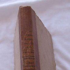 Libros antiguos: EXAMEN DE LA HACIENDA PUBLICA DE ESPAÑA CONTE 1855. Lote 123677459