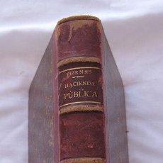 Libros antiguos: TRATADO DE HACIENDA PUBLICA PIERNAS 1891 TOMO II. Lote 123678807