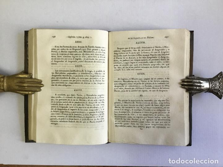 Libros antiguos: ORDENANZAS DE LA ILUSTRE UNIVERSIDAD, Y CASA DE CONTRATACION DE LA M. M. Y M. L. VILLA DE BILBAO... - Foto 6 - 123148815