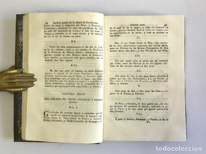 Libros antiguos: ORDENANZAS DE LA ILUSTRE UNIVERSIDAD, Y CASA DE CONTRATACION DE LA M. M. Y M. L. VILLA DE BILBAO... - Foto 7 - 123148815