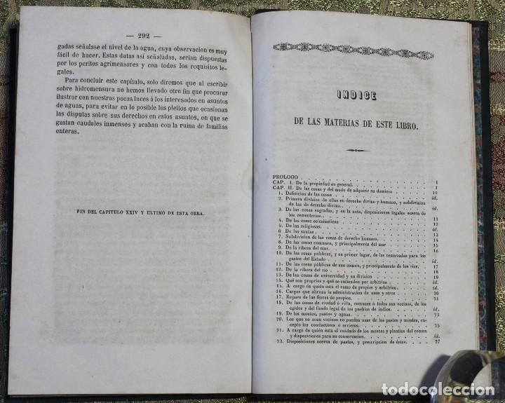 Libros antiguos: Ordenanzas de tierras y aguas • 1855 • Mariano Galván • México • Ganadería - Foto 3 - 125499295