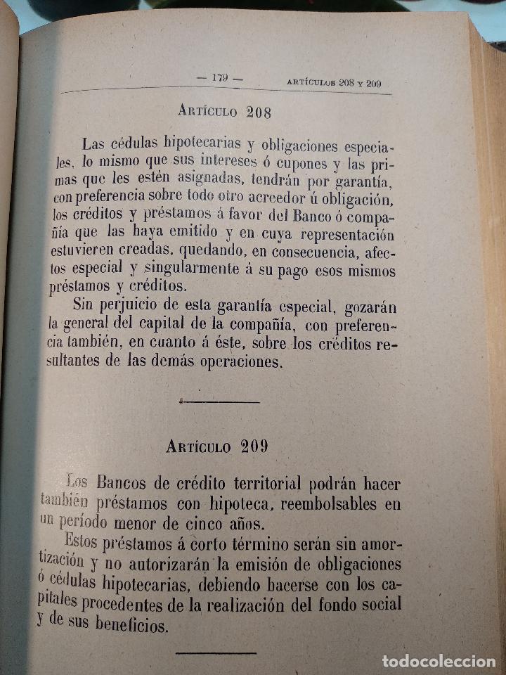 Libros antiguos: EL CÓDIGO DE COMERCIO INTERPRETADO POR EL TRIBUNAL SUPREMO - D. VICENTE LÓPEZ LARRUBIA - 1902 - - Foto 4 - 125957199