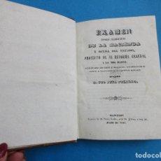 Libros antiguos: EXAMEN DE LA HACIENDA Y DEUDA DEL ESTADO Y LA DEL BANCO. PIO PITA PIZARRO. 1840. PIEL. 486 PÁGINAS.. Lote 125994731