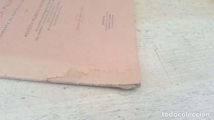 Libros antiguos: Responsabilidad civil y penal de la mujer durante el periodo menstrual, a. moreno, tesis de 1910 - Foto 2 - 126019367