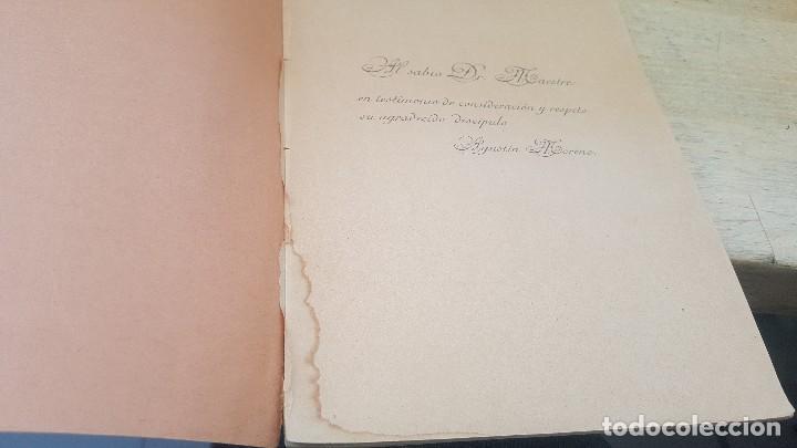 Libros antiguos: Responsabilidad civil y penal de la mujer durante el periodo menstrual, a. moreno, tesis de 1910 - Foto 3 - 126019367