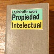 Libros antiguos: PROPIEDAD INTELECTUAL(13€). Lote 126177991