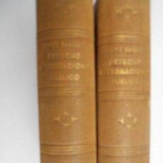 Libros antiguos: ELEMENTOS DE DERECHO INTERNACIONAL PUBLICO, MADRID , 1866 TOMOS I Y II.. Lote 128172823