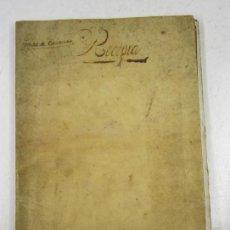 Libros antiguos: LIBRO MANUSCRITO DE CUENTAS Y COBROS, SIGLO XVIII. 21,5X30CM. Lote 128432603