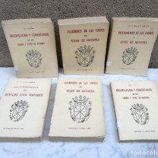 Libros antiguos: DERECHO CIVIL.. DICCIONARIO.. FUEROS.. CORTES DE NAVARRA 1964. Lote 128649359