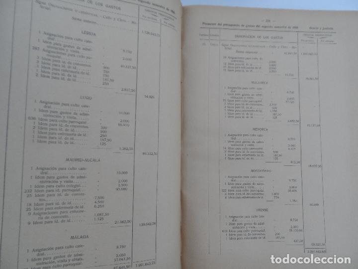 Libros antiguos: PRESUPUESTOS GENERALES DEL ESTADO PARA EL SEGUNDO SEMESTRE DE 1926. - Foto 3 - 129087891