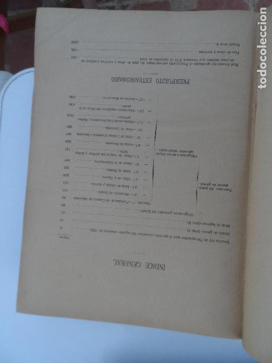 Libros antiguos: PRESUPUESTOS GENERALES DEL ESTADO PARA EL SEGUNDO SEMESTRE DE 1926. - Foto 4 - 129087891