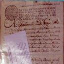 Libros antiguos: [EJECUTORIA PARA LA POSESIÓN DE LAS TEMPORALIDADES DE LA ENCOMIENDA DE CERVERA Y DE AMETLLA.]. Lote 123267298