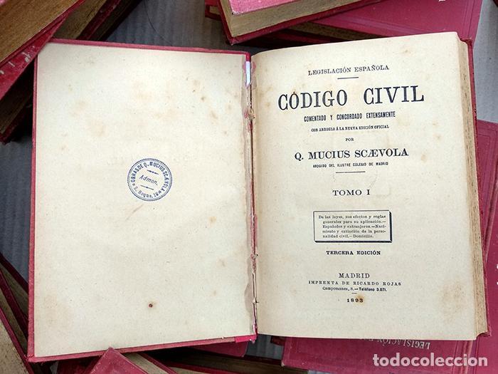 Comentarios Al C U00f3digo Civil  21 Vol U00famenes  1893