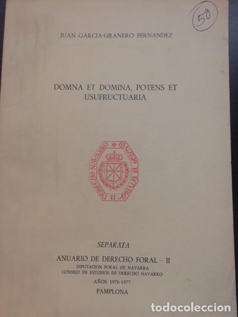 ANUARIO DEL DERECHO FORAL II (Libros Antiguos, Raros y Curiosos - Ciencias, Manuales y Oficios - Derecho, Economía y Comercio)