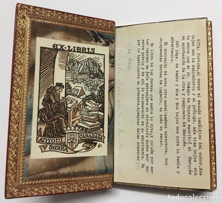 Libros antiguos: GOVIERNO CHRISTIANO Y POLITICO. - VELEZ LADRON DE GUEVARA, Cristóbal. [ENC. BRUGALLA.] - Foto 7 - 109023555