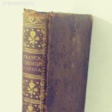 Libros antiguos: SACRA THEMIDIS HISPANAE ARCANA, JURIUM LEGUMQUE ORTUS, PROGRESSUS, VARIETATES ET OBSERVANTIAS, CUM P. Lote 132979174