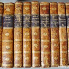 Libros antiguos: FEBRERO NOVÍSIMO. LIBRO DERECHO. PRIMERA EDICIÓN 1828. EUGENIO DE TAPIA. 10 TOMOS. COMPLETO.. Lote 133189034