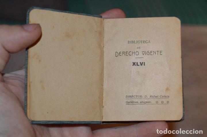 Libros antiguos: CÓDIGO PENAL DE LA MARINA DE GUERRA - SATURNINO CALLEJA - PRINCIPIO DE 1900 - VINTAGE - ENVÍO 24H - Foto 11 - 133381118