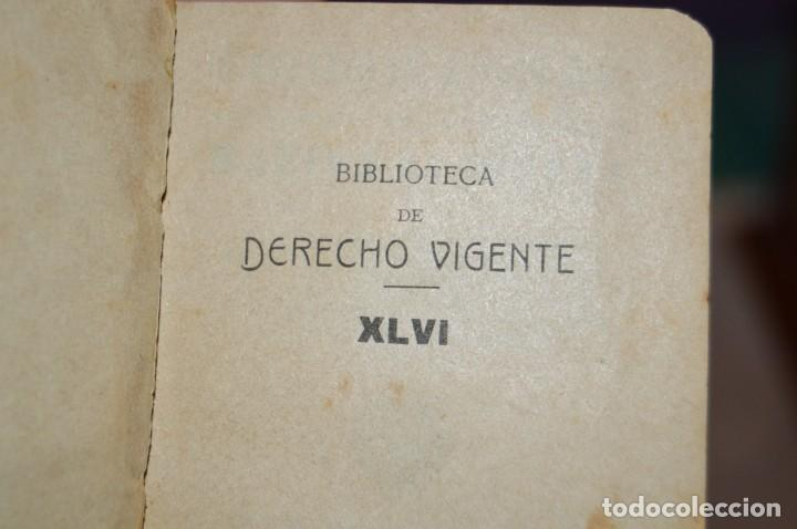 Libros antiguos: CÓDIGO PENAL DE LA MARINA DE GUERRA - SATURNINO CALLEJA - PRINCIPIO DE 1900 - VINTAGE - ENVÍO 24H - Foto 12 - 133381118