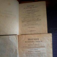 Libros antiguos: TRATADO DE ECONOMÍA POLÍTICA DE 1821. Lote 133821507