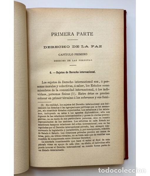 Libros antiguos: DERECHO INTERNACIONAL PÚBLICO MODERNO - Foto 4 - 134965790