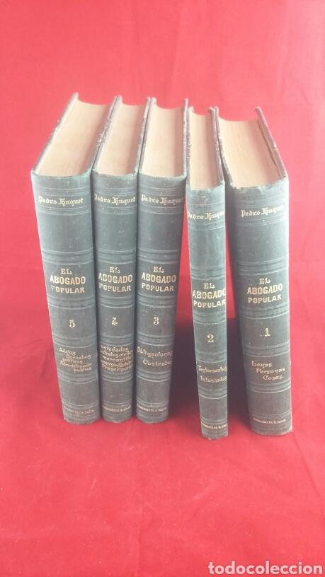 EL ABOGADO POPULAR PEDRO HUGUET (Libros Antiguos, Raros y Curiosos - Ciencias, Manuales y Oficios - Derecho, Economía y Comercio)