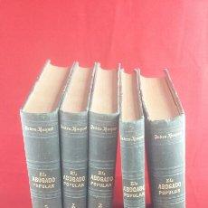Libros antiguos: EL ABOGADO POPULAR PEDRO HUGUET. Lote 135301389