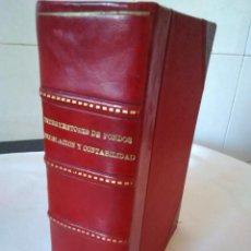 Libros antiguos: 21-INTERVENTORES DE FONDOS DE ADMINISTRACION LOCAL, TOMO I, 1928. Lote 136224970