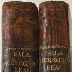 Libros antiguos: ILUSTRACION DEL DERECHO REAL DE ESPAÑA. - SALA, JUAN. - MADRID, 1820.. Lote 123243119