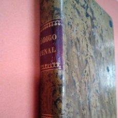 Libros antiguos: CÓDIGO PENAL DE 1870. CÁNDIDO MARTÍ. AÑO 1884. Lote 136608134