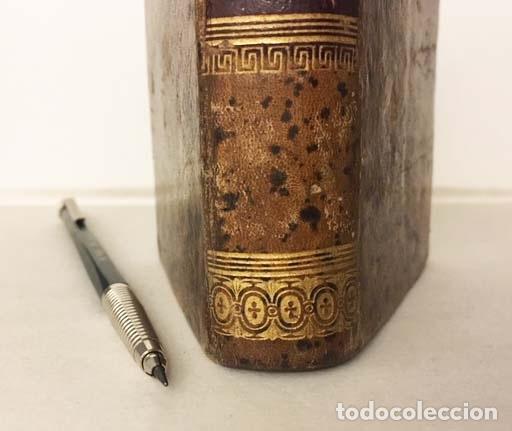 Libros antiguos: Ley de Enjuiciamiento Civil, glosada con los puntos resueltos… 1867. Miniatura Plena piel romántica - Foto 3 - 137470298